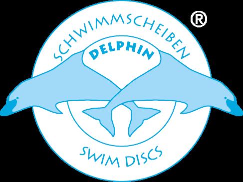 Delphin® disques de natation - Logo